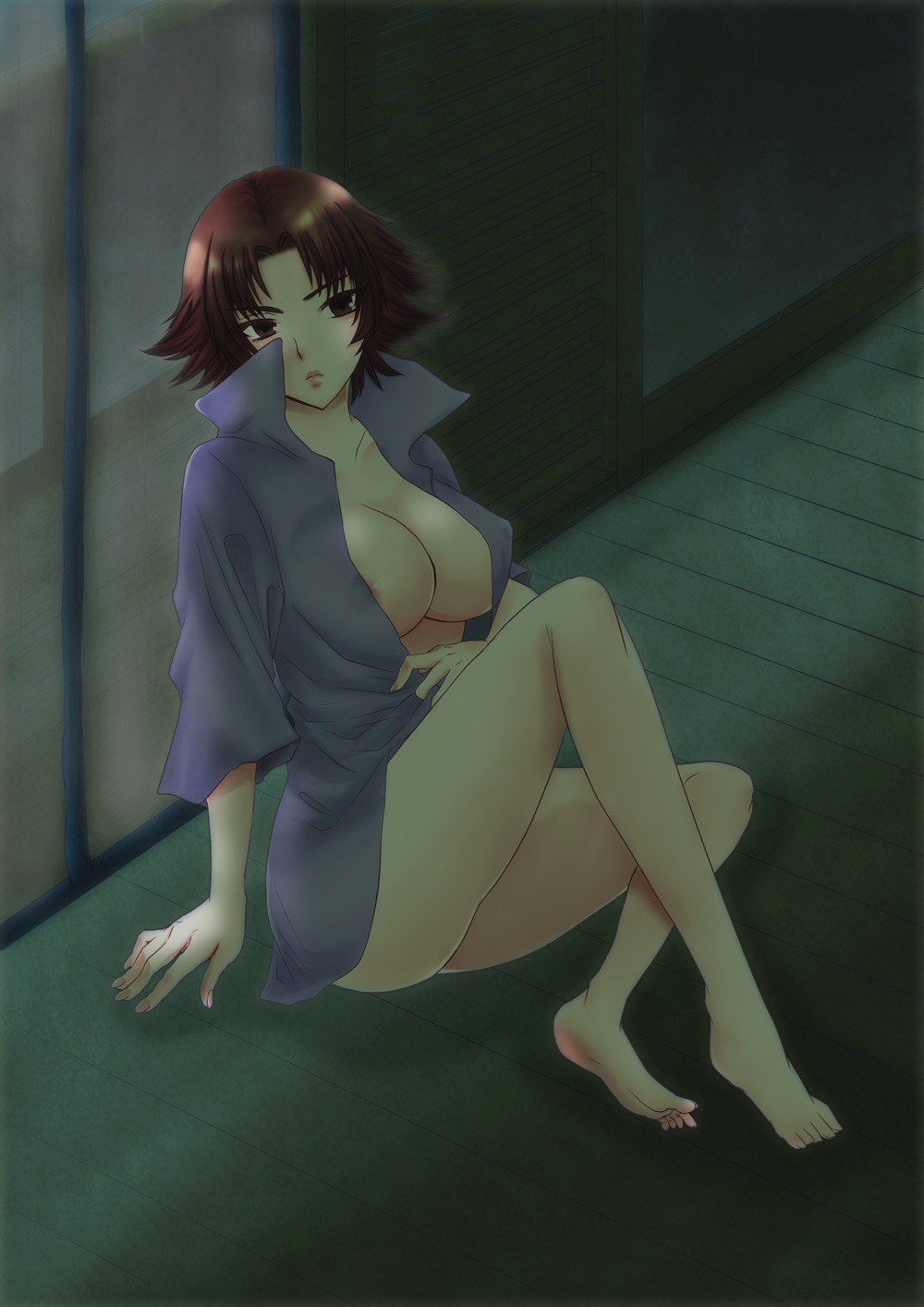 pants see through pussy yoga Fate stay jack the ripper