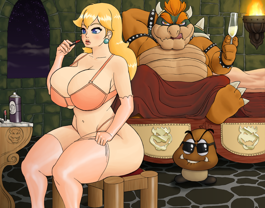 bowser in bed peach and My time at portia phyllis
