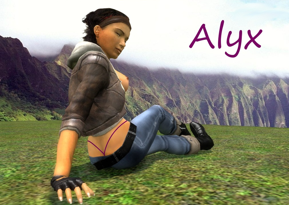 mod nude 2 life half alyx Naked girls in fallout 4