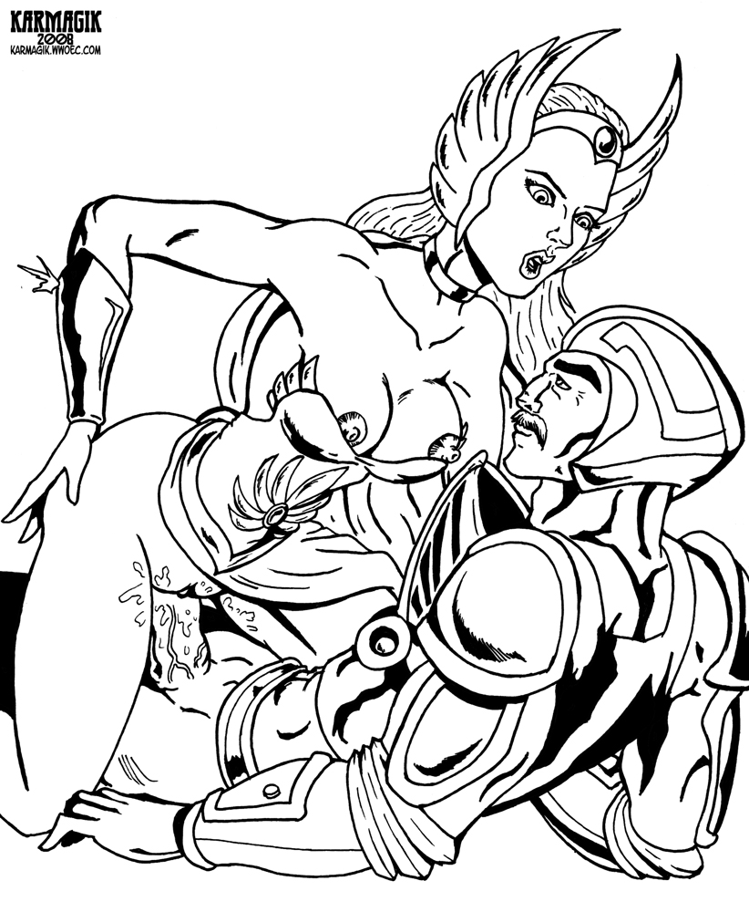 ra princess power of porn she One punch man superalloy blackluster