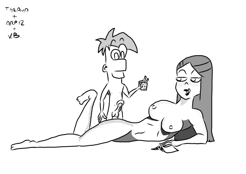 naked and sex ferb phineas Forest_of_the_blue_skin
