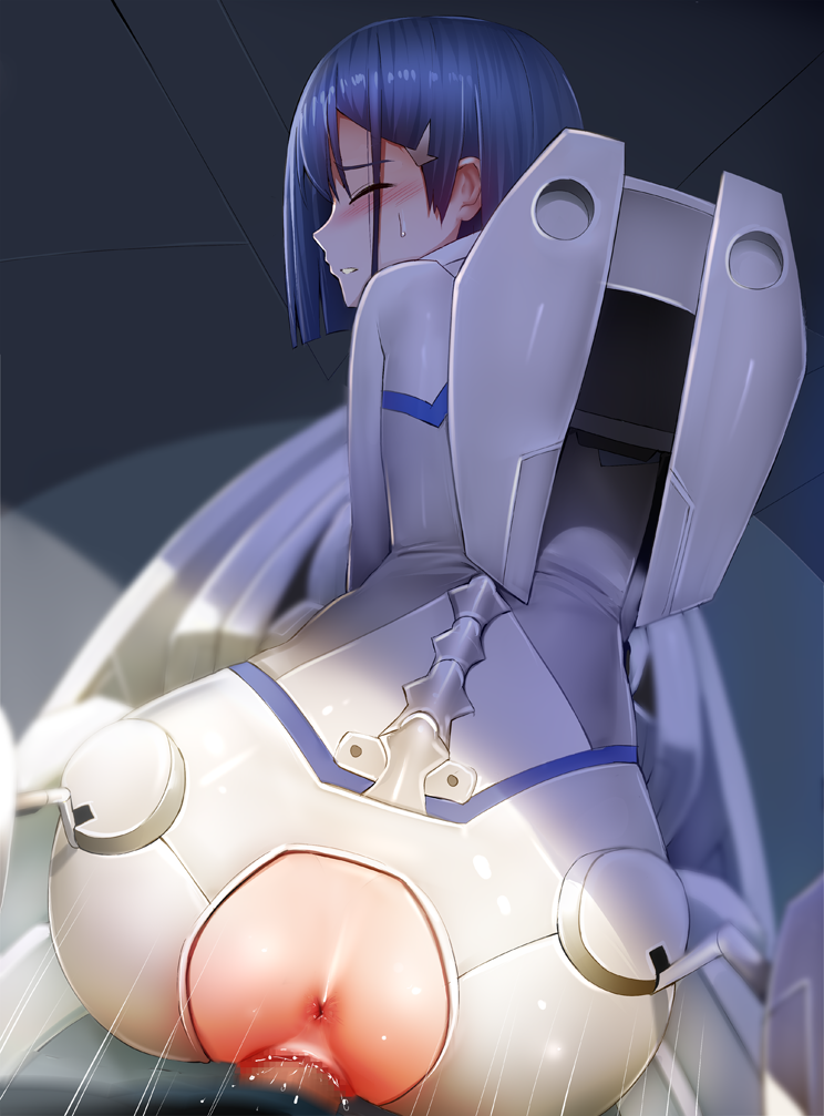 in franxx from the darling 002 Bimbette beauty and the beast