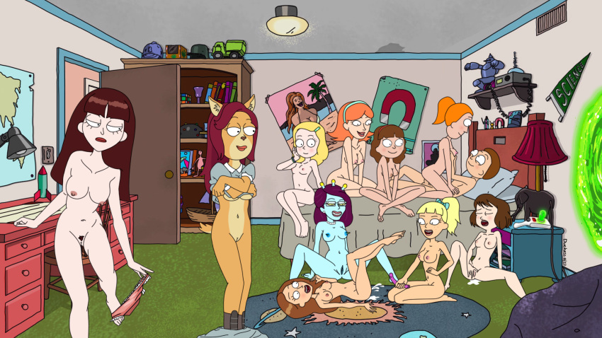 morty naked and jessica rick Silent hill 4 eileen head